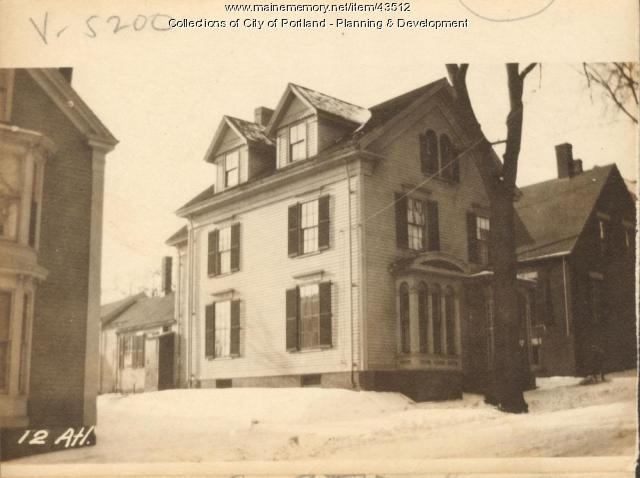 10-12 Atlantic Street, Portland, 1924