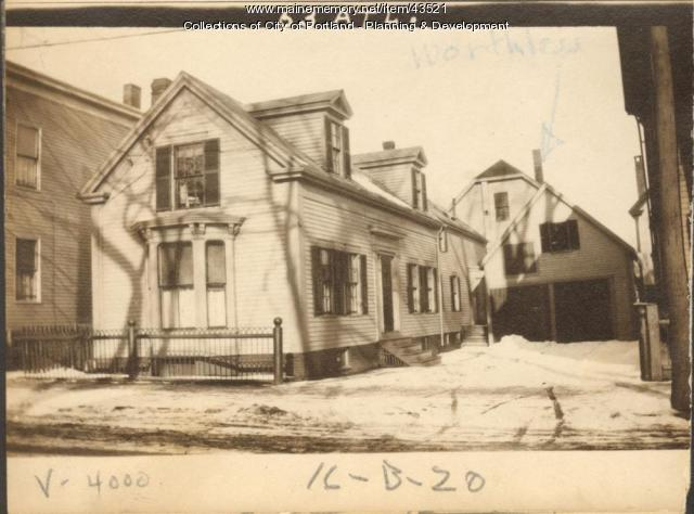 63 Atlantic Street, Portland, 1924