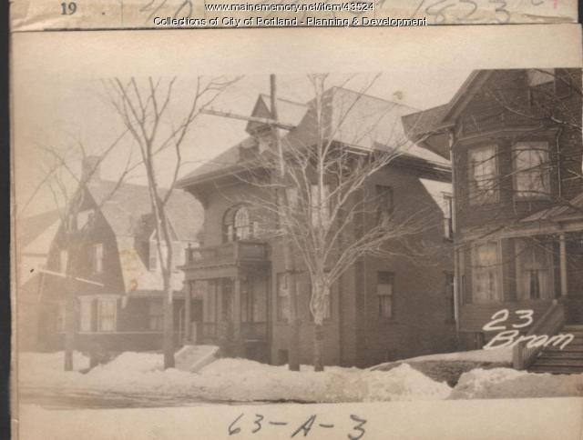 21-23 Bramhall Street, Portland, 1924