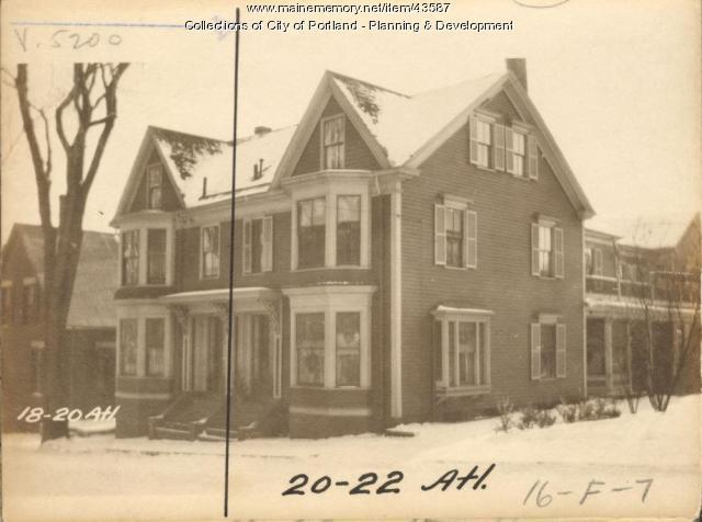 18 Atlantic Street, Portland, 1924