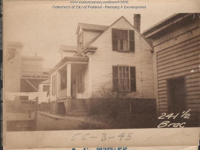244 Brackett Street, Portland, 1924