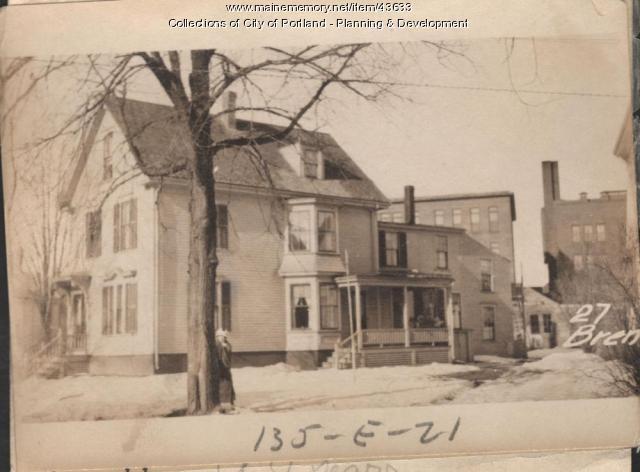 27 Brentwood Street, Portland, 1924