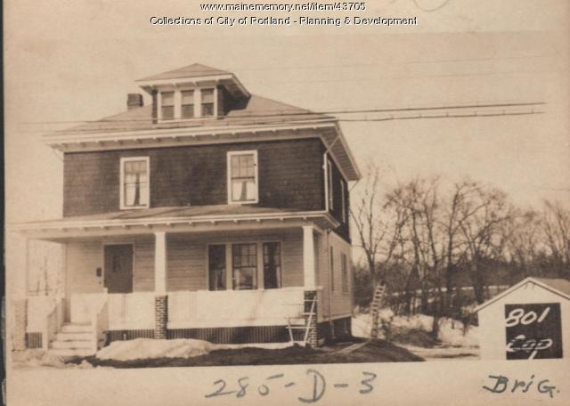 801-803 Brighton Avenue, Portland, 1924