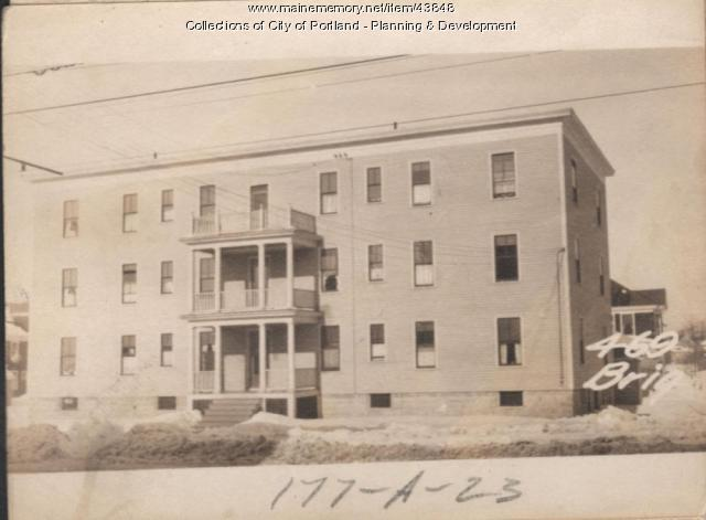 465 Brighton Avenue, Portland, 1924