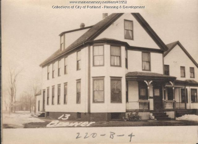 13 Brewer Street, Portland, 1924