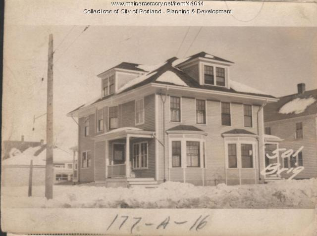 499-501 Brighton Avenue, Portland, 1924