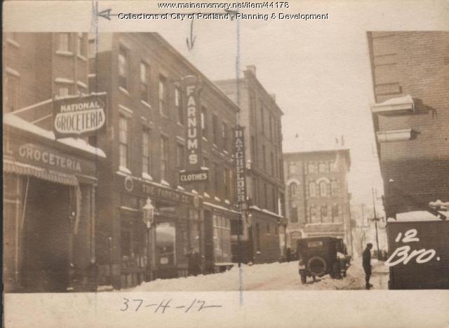 12-16 Brown Street, Portland, 1924