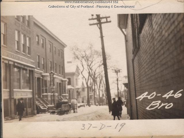 40 Brown Street, Portland, 1924