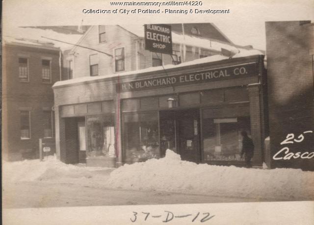 25-27 Casco Street, Portland, 1924