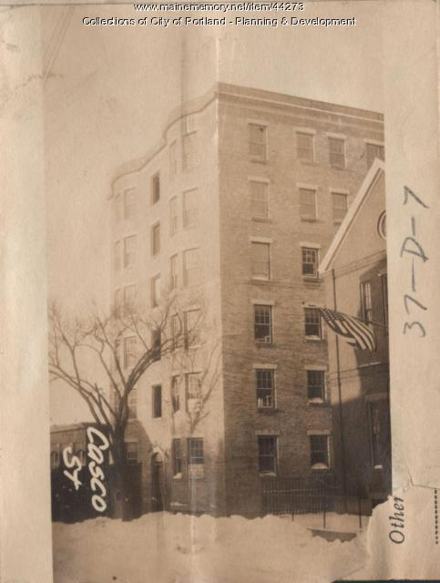 33-37 Casco Street, Portland, 1924