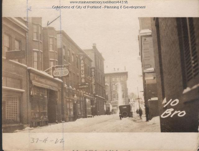 10 Brown Street, Portland, 1924