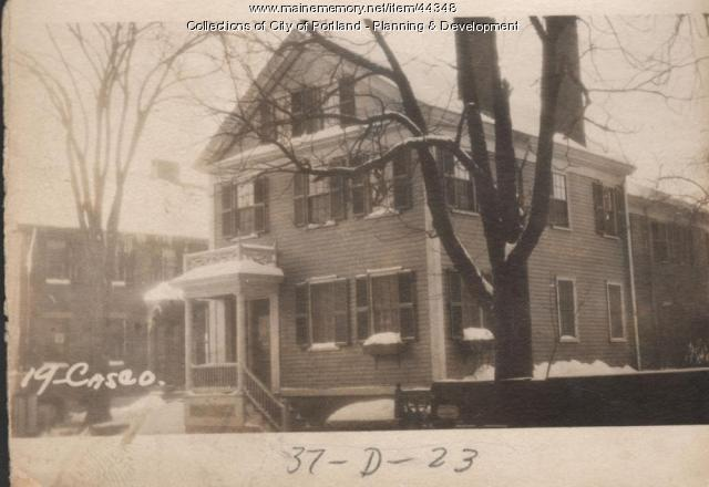 9-21 Casco Street, Portland, 1924