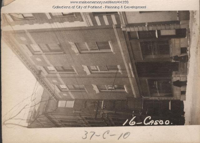 14-16 Casco Street, Portland, 1924