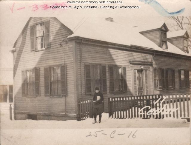 13 Cedar Street, Portland, 1924
