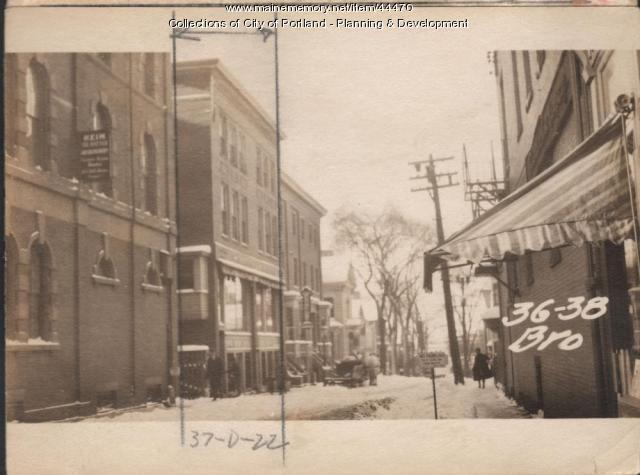 34-38 Brown Street, Portland, 1924