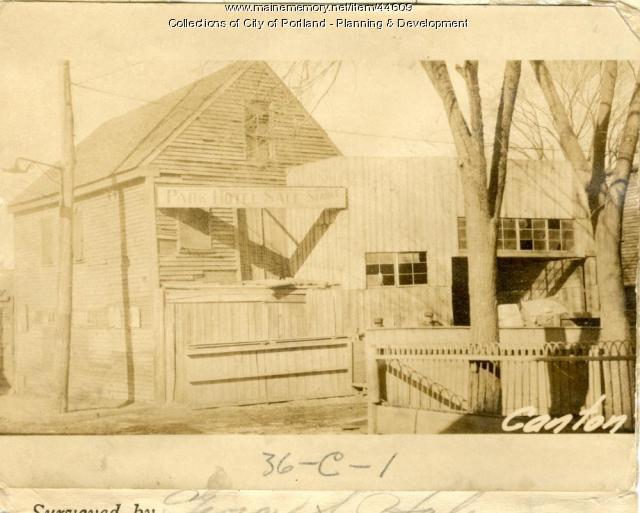 9-11 Canton Street, Portland, 1924