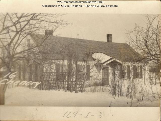 20 Chenery Street, Portland, 1924
