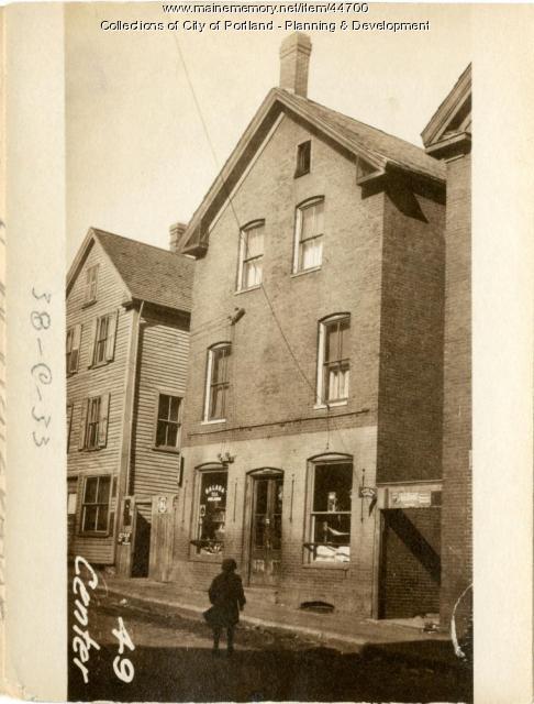 49 Center Street, Portland, 1924