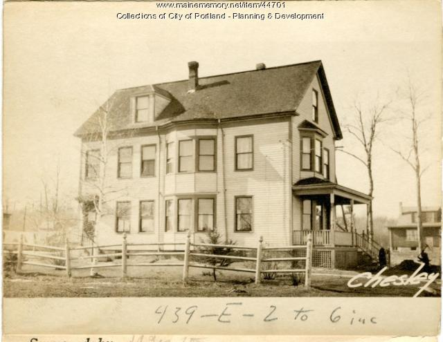 30 Chesley Avenue, Portland, 1924
