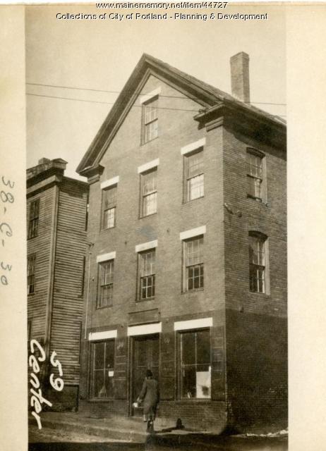 57-59 Center Street, Portland, 1924