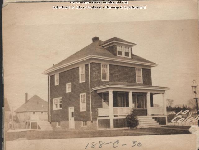 24-26 Caleb Street, Portland, 1924