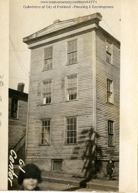 61 Center Street, Portland, 1924