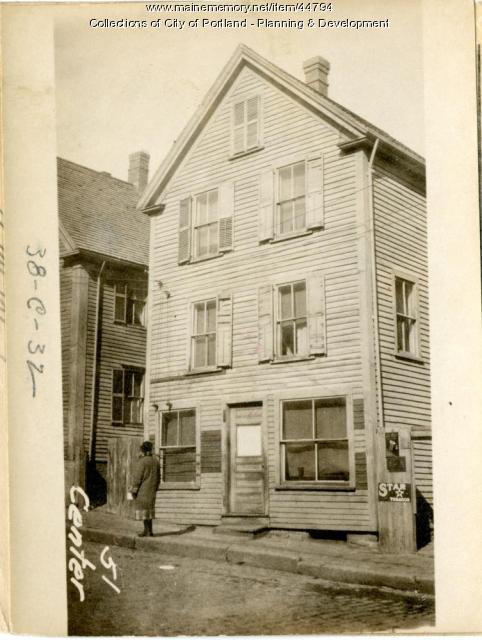 51 Center Street, Portland, 1924