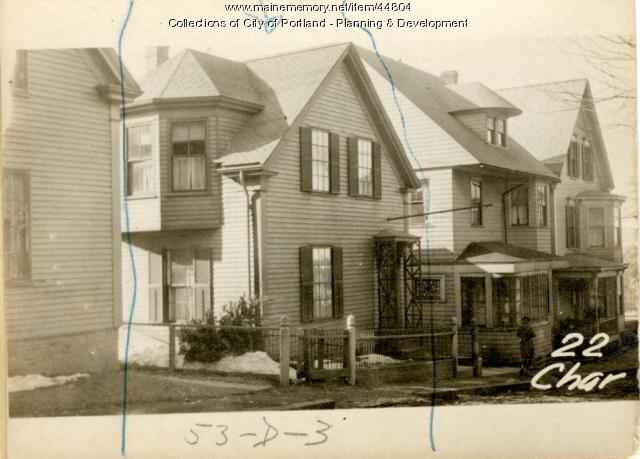 22 Chase Street, Portland, 1924