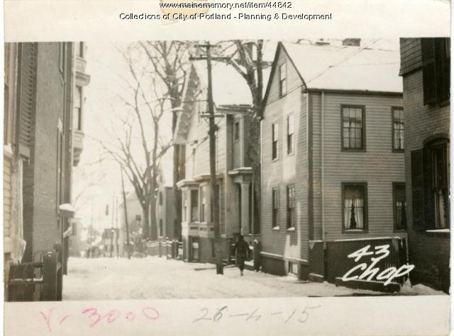 43-45 Chapel Street (ext), Portland, 1924