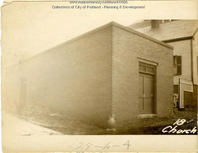 14 Church Street, Portland, 1924