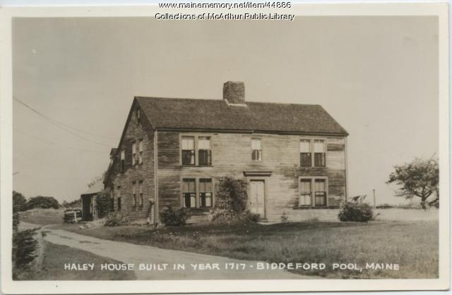 Haley House, Biddeford Pool, ca. 1910