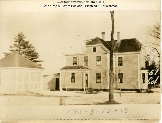 67-69 College Street, Portland, 1924