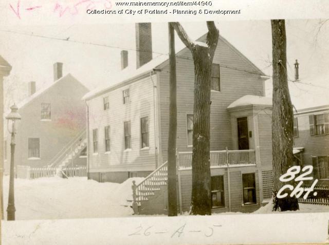 82 Chestnut Street, Portland, 1924