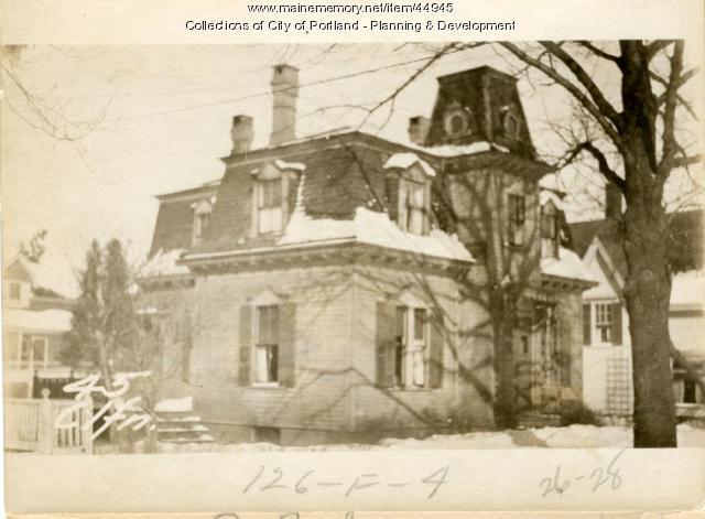 45 Clifton Street, Portland, 1924