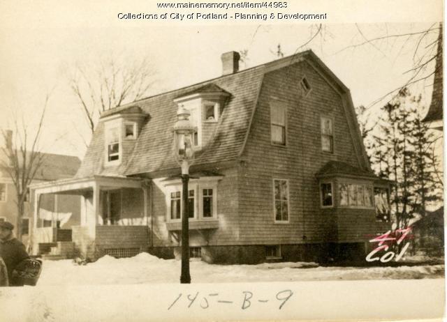 43 College Street, Portland, 1924