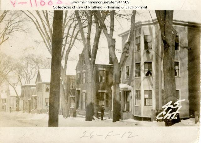 43-45 Chestnut Street, Portland, 1924