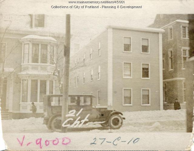 17-21 Chestnut Street, Portland, 1924