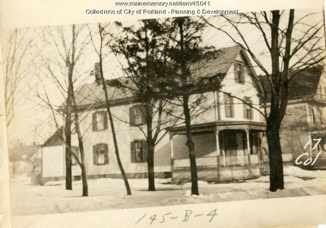 15-19 College Street, Portland, 1924