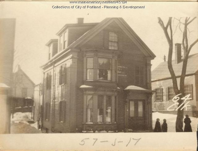 62-64 Clark Street, Portland, 1924