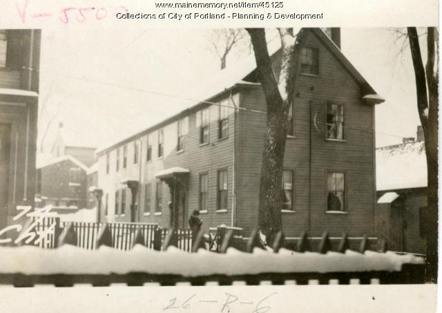 74-76 Chestnut Street, Portland, 1924