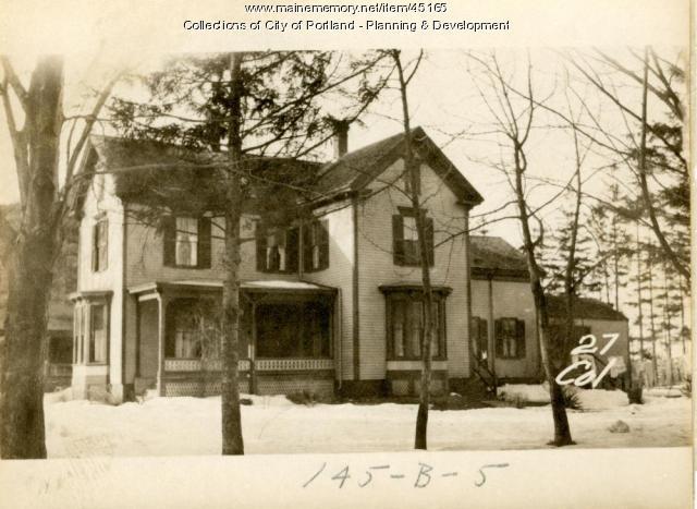 27 College Street, Portland, 1924