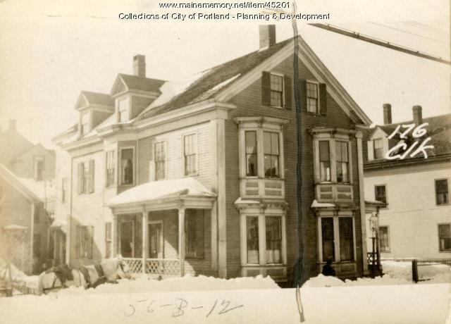 176-178 Clark Street, Portland, 1924