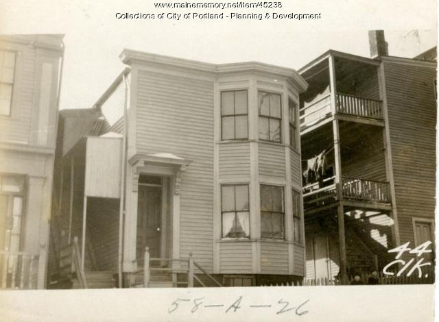 44 Clark Street, Portland, 1924
