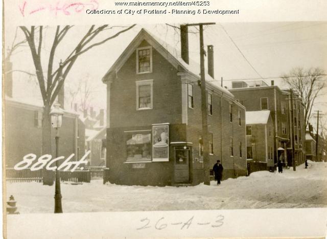 88-90 Chestnut Street, Portland, 1924