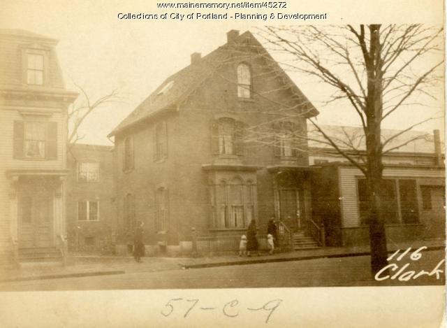114-116 Clark Street, Portland, 1924