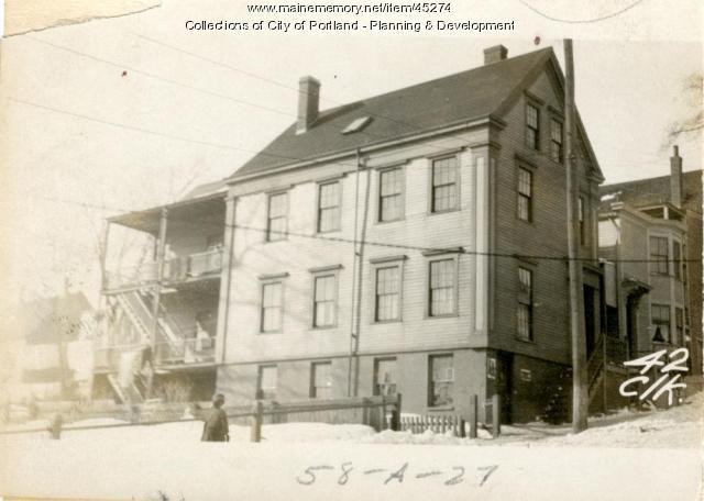 38-42 Clark Street, Portland, 1924