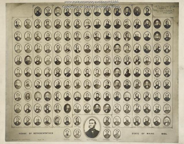 Maine House of Representatives, 1865