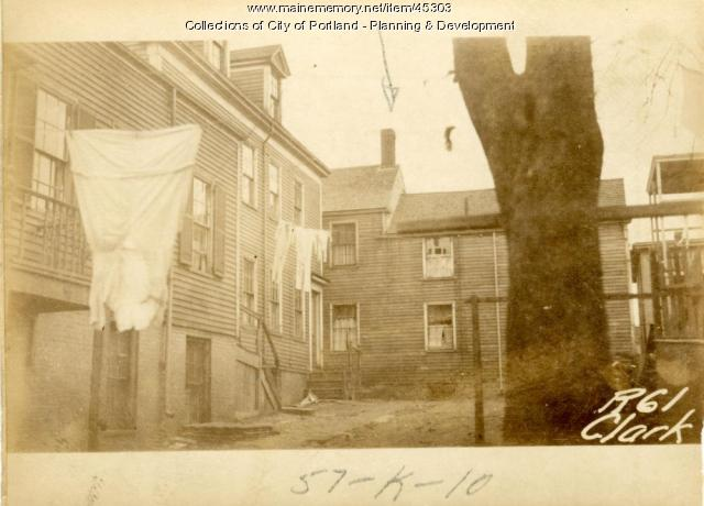 61 Clark Street, Portland, 1924
