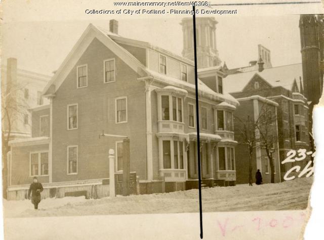 23 Chestnut Street, Portland, 1924