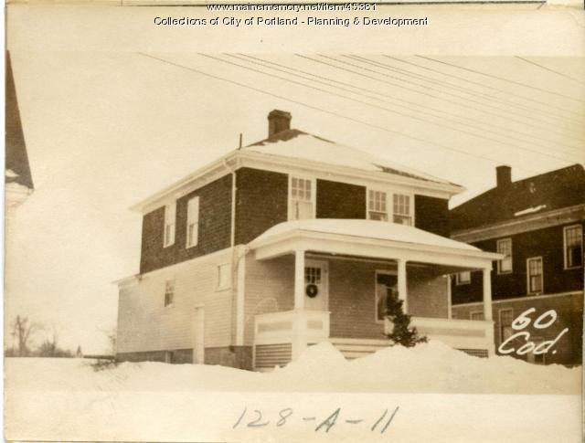 60-62 Codman Street, Portland, 1924